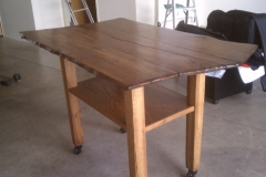 Madrone slab layout table