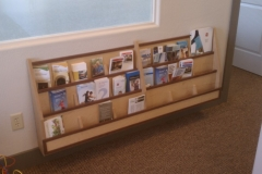 Pamphlet rack