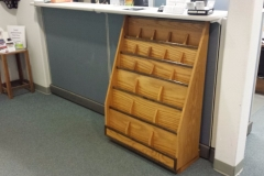 Pamphlet rack single