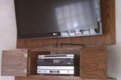 Wall-mount TV cabinet